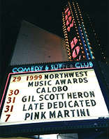 The Marquee at the Showbox (Photo by Peter Kardas)